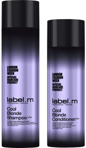 COOL BLONDE SHAMPOO + CONDITIONER